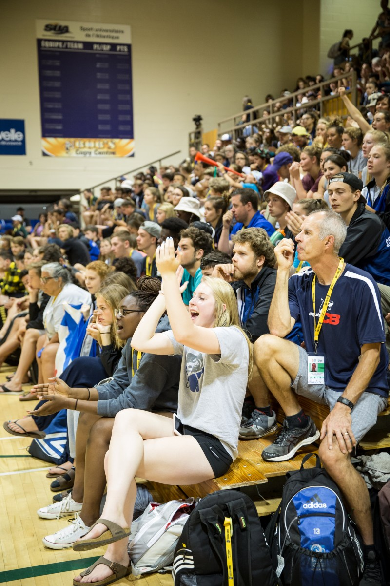 2017 sport volleyball spectateur foule