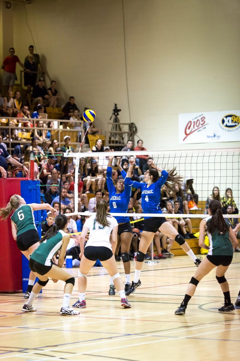 2017 sport volleyball fille nouveau-brunswick québec