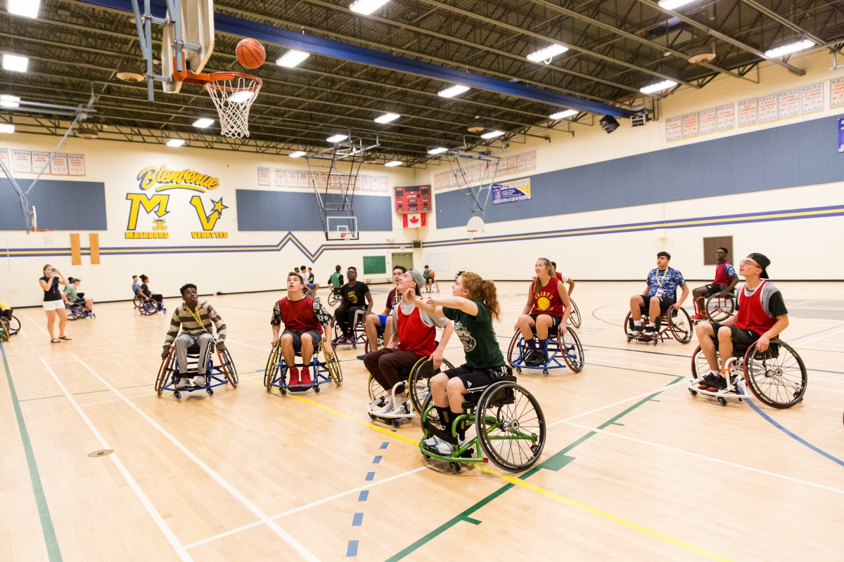 2017 sport basketball atelier formation fauteuil roulant