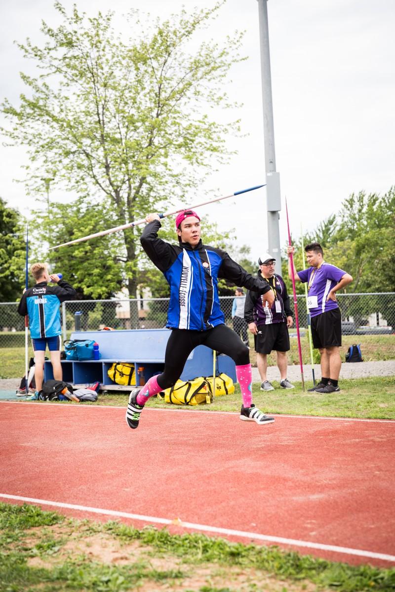 2017 sport athlétisme lancer javelot