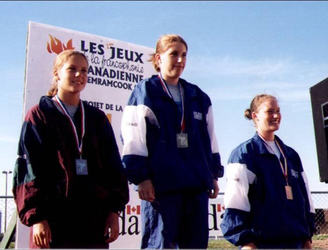 athlétisme filles 1999 médailles
