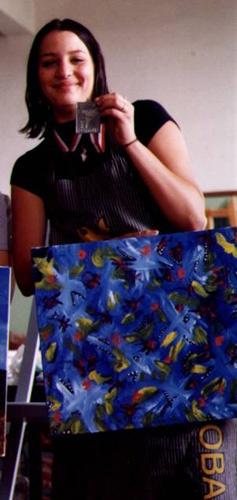1999 arts visuels temps-limite FFournier manitoba médaille argent