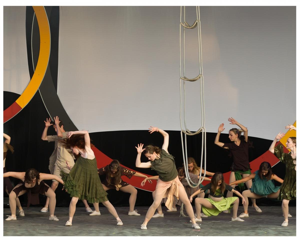 2011 cérémonie ouverture danse cirque