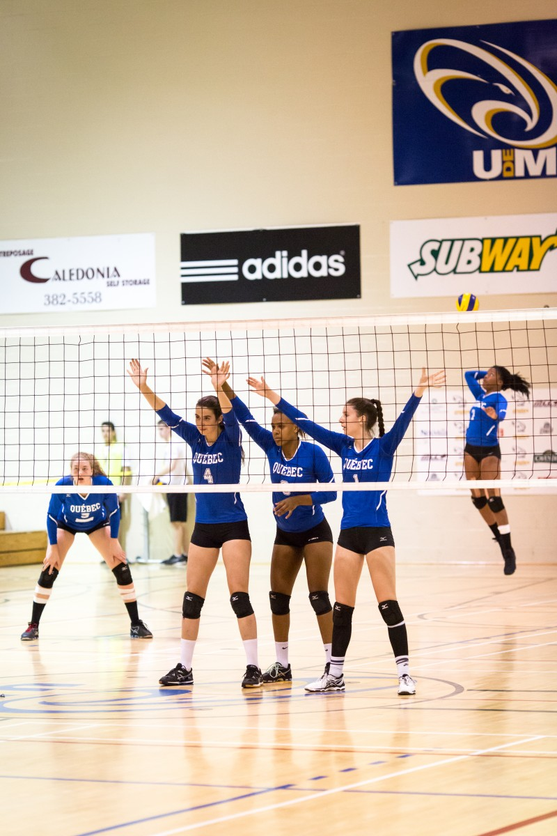 2017 sport volleyball fille québec