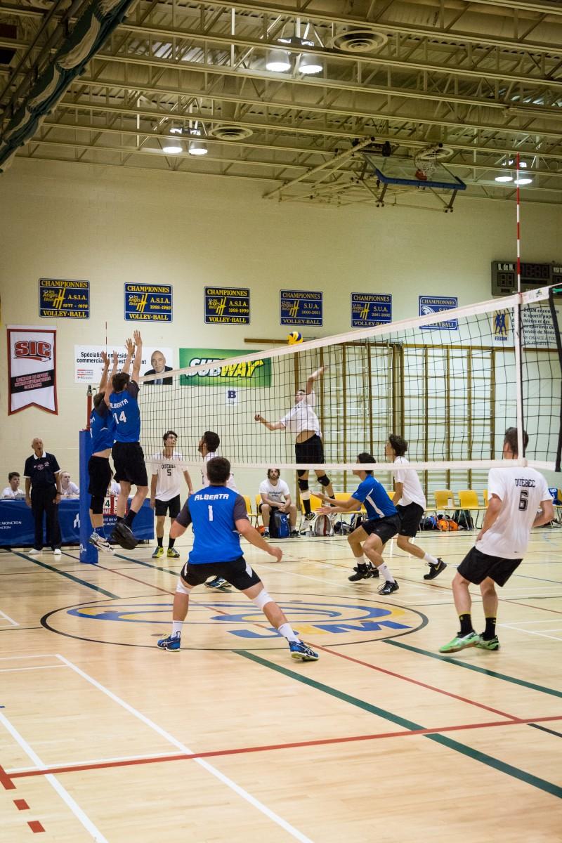 2017 sport volleyball gars alberta québec