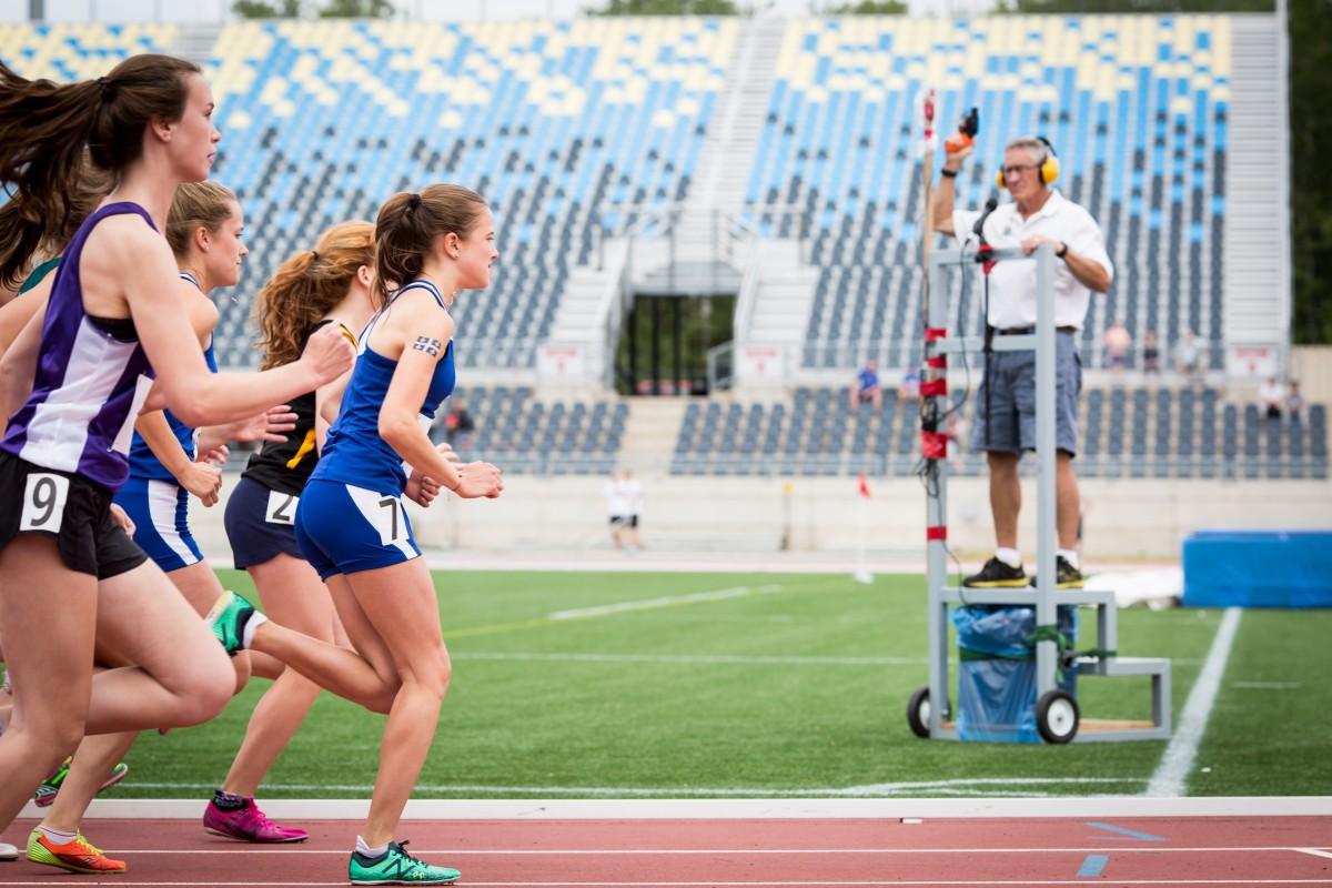 2017 sport athlétisme course fille
