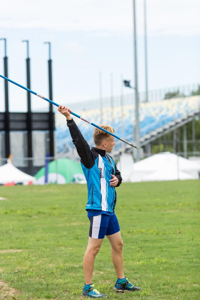 2017 sport athlétisme lancer javelot québec