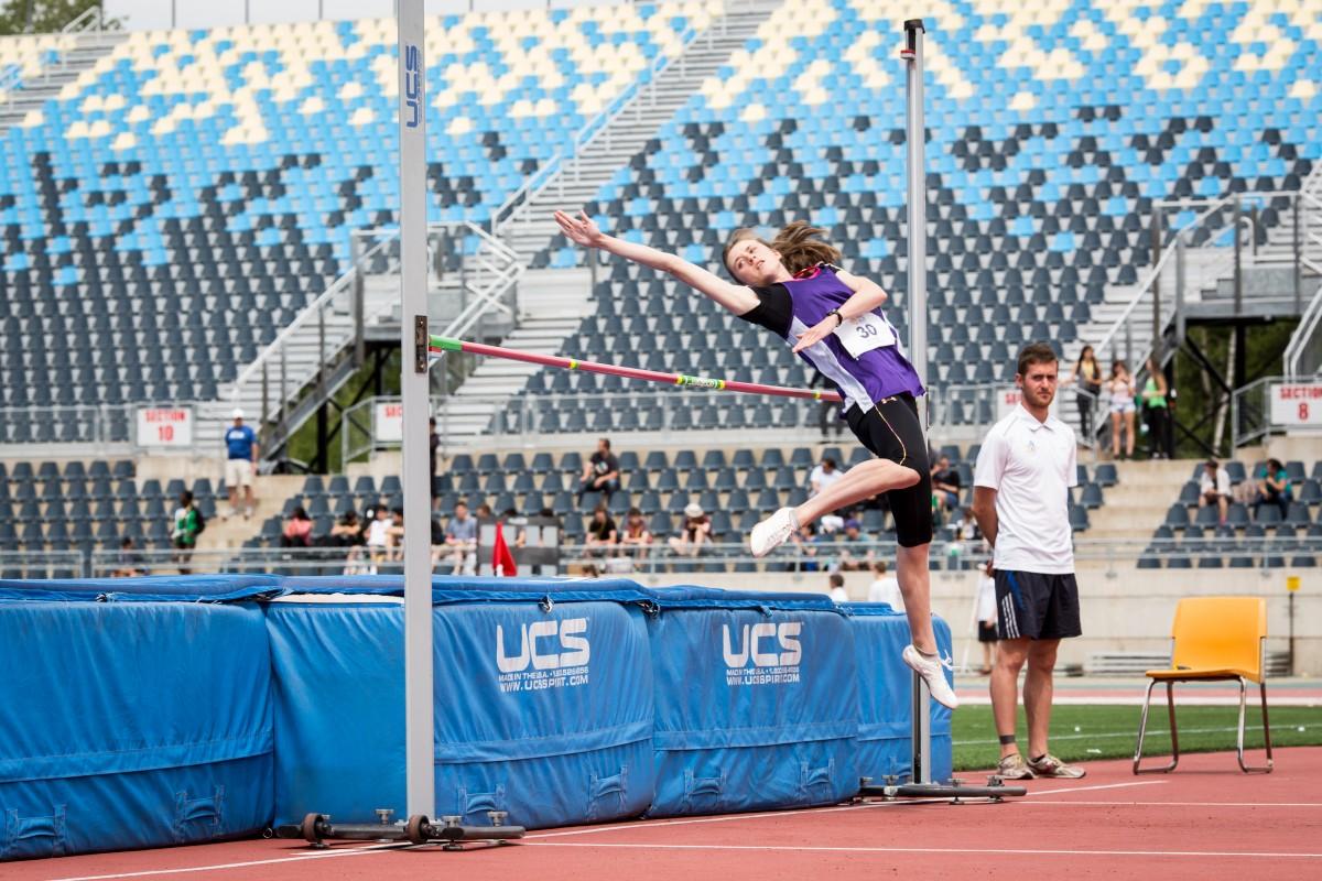 2017 sport athlétisme saut hauteur fille