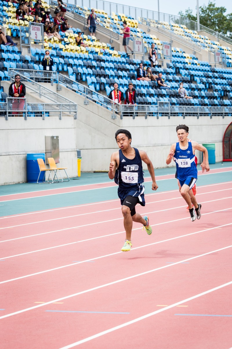 2017 sport athlétisme course gars