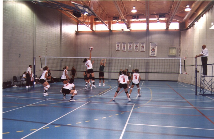 2011 sport volleyball filles